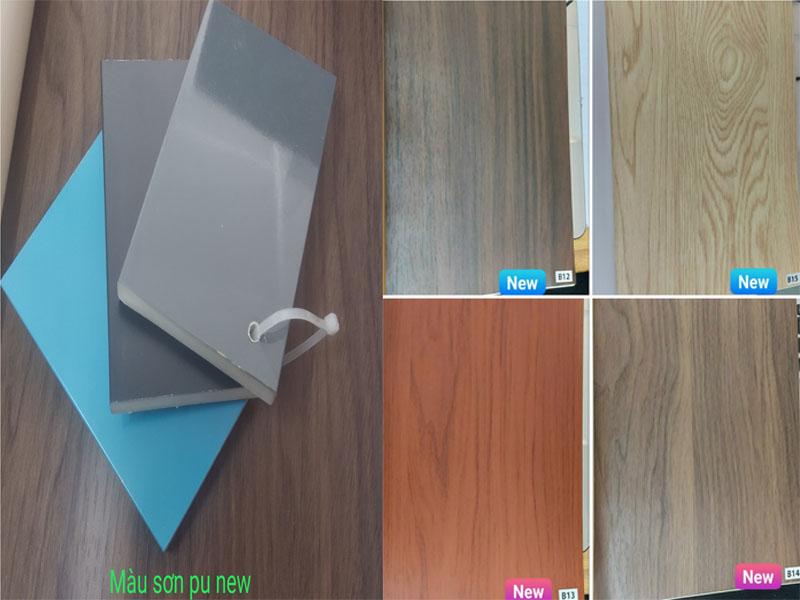 mã màu mới cửa nhựa composite